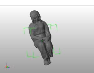 фигура на кресле пластилин скан
